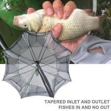 Magic Fishing Trap 8 Holes Full Automatic Folding Shrimp Cage Fish Net Portable