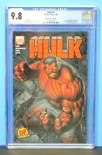 2008 Marvel Hulk #1 Dynamic Forces Variant 1st Red Hulk CGC Graded 9.8 Hot Key
