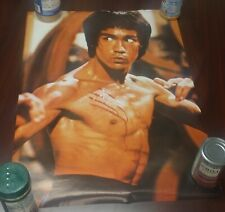 """1977 bruce lee # 14-587 approximately 20"""" """"x20"""""""