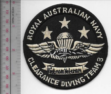 Australian Clearance Diver Team 3 Navy Special Forces Military EOD UXB IED Patch