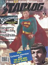 Starlog #67 E.T. Superman III Airplane II New Video Games Star Trek II