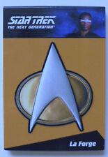 Star Trek Next Generation TNG LeVar Burton CP6 Communicator pin card