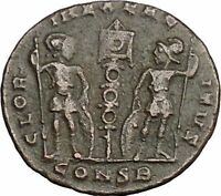 Constantine II Jr Constantine the Great son Ancient Roman Coin Legions i37686