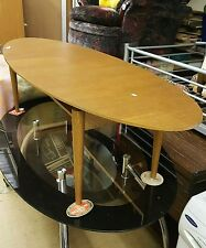 Without Assembly Required Vintage/Retro Oval Coffee Tables