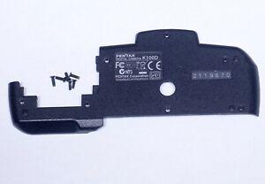 PENTAX K100D Plastic Bottom Cover Panel w Screws Digital SLR Camera Parts
