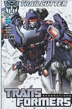 IDW Comics Transformers Generations Spotlight TRAILCUTTER #1 Hasbro Variant