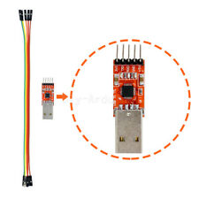 NEW CP2102 USB 2.0 to TTL UART Serial Converter Module 5P STC PRGMR with cable