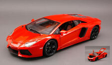Lamborghini Aventador LP700-4 2011 Orange 1:18 Model 11033OR BBURAGO