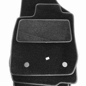 Velours Fußmatten passend für Dacia Logan 1 Bj. 2005-2009