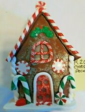 R203 Small Artificial Gingerbread House