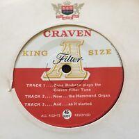 "DAVE BRUBECK...CRAVEN ""A"" King Size Filter...Australian Advertising 7"" EP Jazz"