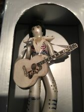ELVIS PRESLEY GLASS FIGURE, MINT/RARE!