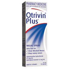 Otrivin Plus Adult Nasal Spray 10ml Clear Blocked Noses