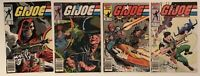 GI Joe ARAH lot of 4 comics #43, #45, #47 & #54 Marvel Newsstands