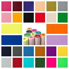 """Sticky Back Self Adhesive 9"""" Felt Fabric Squares in 48 Colours BUY 2 GET 1 FREE!"""