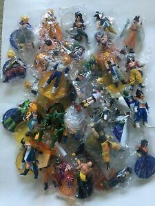"""DBZ Dragon Ball Z 4"""" to 6"""" Figure w Stand"""