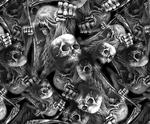 Death Skulls Hydrographics Film Special Eddition