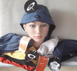 Oakley Nike ZCUD Bandana Headwrap Skull Cap Tie Back Sports Cycling Unisex Nos