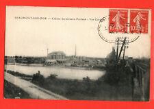 CPA-95-VAL D'OISE-BEAUMONT-SUR-OISE-USINE DES CIMENTS PORTLAND-1921-2 PHOTOS