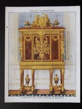 No.13 CABINET OF THE COMTE D'ARTOIS The King's Art Treasures W.D.& H.O.Wills