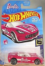 2018 Hot Wheels #273 Screen Time-Barbie #7/10 '14 CORVETTE STINGRAY Pink w/J5 Sp