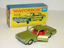 MATCHBOX 62 JOLIE MERCURY COUGAR EN BOITE  1/75