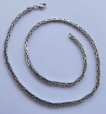 Königskette Halskette F. Binder 925 Silber Vintage 70er a necklace silver