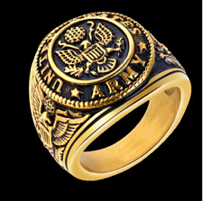 United States Army Ring Stainless Steel Size 11 - Ships from USA