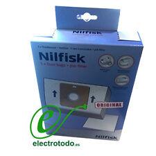 Bolsa aspirador Nilfisk Compact - Coupe - Go (5 bolsas + prefiltro)