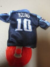 4bf50f813 Vince Young  10 Titans MINI NFL JERSEY Burger King Kids Meal Toy