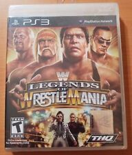 WWE Legends of WrestleMania (Sony PlayStation 3, 2009) PS3 NEW Sealed