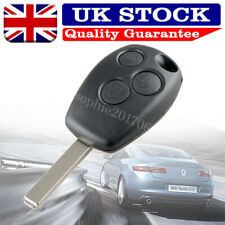 3 Button Remote Key FOB Case Shell For Renault Clio Modus Vauxhall Movano Vivaro