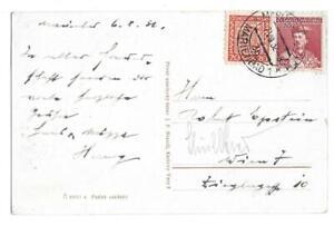 Mariánské Lázně, Czech Republic to Vienna, Austria 1932 Post Card, Marienbad
