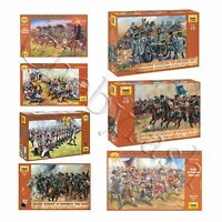 """Model Kits """"Soldiers of European Armies, 16-18 cent"""" toy figures 1:72 Zvezda"""
