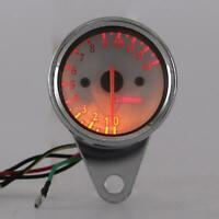motorcycle digital speedo tachometer KPH MPH chop For streetfighter universal