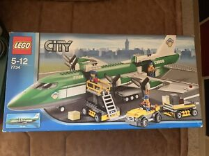 Lego City 7734 - Cargo Plane - Complete With Instructions & Box