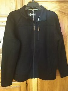 NWT $140 SMARTWOOL Men's HUDSON TRAIL Fleece Full Zip Wool Jacket NAVY Large L