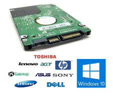 320 GB Unidad De Disco Duro SATA 2.5 Para Laptop Dell Ibm Hp Toshiba Windows 10 Pro