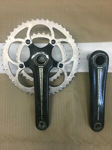 Campagnolo Record 10 Speed UT Carbon Crankset w/ chainrings and bolt 172.5