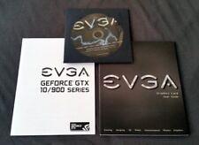 EVGA Treiber CD Handbuch Quick User Guide Zubehör für GTX 1000er und 900er Serie
