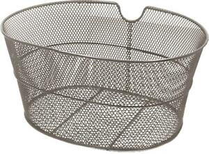 588160070 - Basket Front Iron Oval Grey for Bicycle