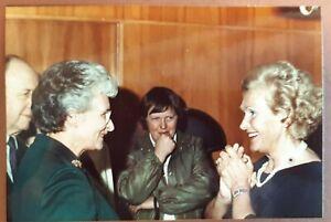 1982 Colour Photograph. ELISABETH SCHWARZKOPF #4. Waterloo Room, London. Opera