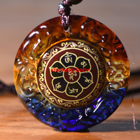 Tibet Buddha Pendant Om Mani Mantra Necklace Amulet  Blessed Buy 2 Get 1