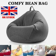 XL Classic Bean Bag Chair Indoor Outdoor Extra Large Garden Beanbag Seat ELE