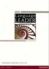 Pearson NEW LANGUAGE LEADER Upper Intermediate Coursebook / Student's Book @NEW@