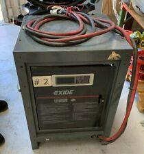 Exideelectric Le1 18 8508 Forklift Battery Charger 208240480v 36v Single Phase