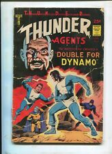 "THUNDER AGENTS #5 - ""DOUBLE FOR DYNAMO!"" - (3.0) 1966"