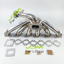 New RB30 ENGINE Top Mount T3 flange Turbo Manifold with 50mm wastegate flange