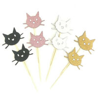 12pcs cake topper cat cake insert card wedding birthday party supply decorationS