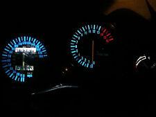 WHITE Suzuki GSXR 750 600 1992-1995 led dash clock conversion kit lightenUPgrade